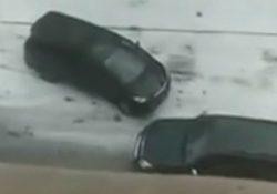 Схватка двух автоледи в Астане становится хитом в Интернете