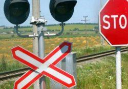 На переезде в Гродно иномарка столкнулась с поездом